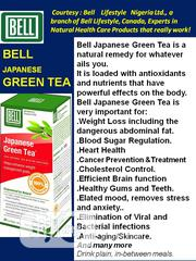 Japanese Green Tea -cleanses Your System Of Toxin & Manages Weight | Vitamins & Supplements for sale in Lagos State, Ikeja