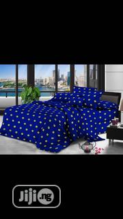 Beautiful Blue Themed Bed Cover Set | Furniture for sale in Lagos State, Oshodi-Isolo