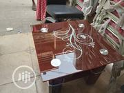 Square Center Table With Quality Glass | Furniture for sale in Lagos State, Ojo