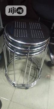 Stainless Side Stool | Furniture for sale in Lagos State, Ojo