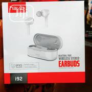 Havit Bilateral Wireless Stereo Earbuds I92 White Colour | Headphones for sale in Lagos State, Ikeja