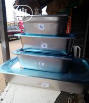 Quality And Durable Stainless Food Warmer Plates Of Different Sizes | Restaurant & Catering Equipment for sale in Lagos State, Ojo