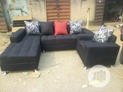 Fabric Sofa in Black   Furniture for sale in Lagos State, Lekki Phase 1