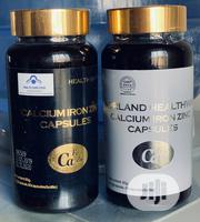 NORLAND Calcium Iron Zinc (Immunity) Cure For Hemorrhoids $ Arthritis | Vitamins & Supplements for sale in Lagos State, Isolo