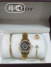 Dior Female Gold Wristwatch & Bracelet | Jewelry for sale in Lagos State, Surulere
