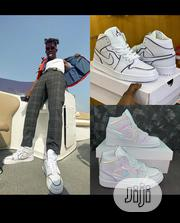 Nike Air Jordan White Sneakers | Shoes for sale in Lagos State, Surulere