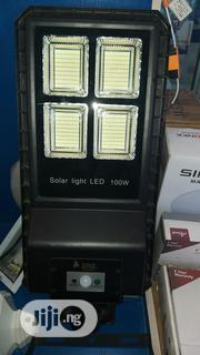 100watts All In One Solar Street Light Original With One Year Warra | Solar Energy for sale in Lagos State, Ojo