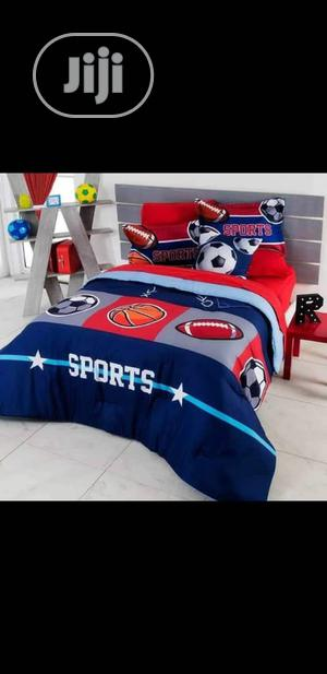 Luxury Bedding Set For All My Soccer Lovers. Don't Miss Out On This