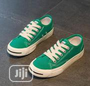 Children Shoes (Green And White Sneakers | Shoes for sale in Lagos State, Ikeja