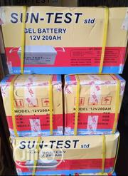 200ahs 12v Sun -test Battery | Electrical Equipment for sale in Lagos State, Ojo