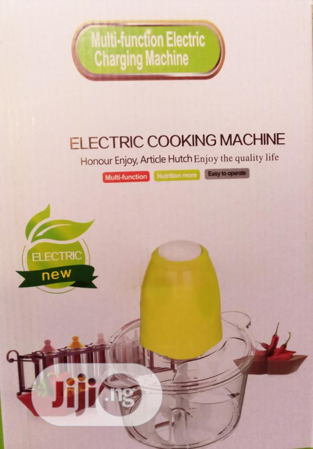 Electric Cooking Machine