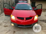 Pontiac Vibe 2004 Automatic Red   Cars for sale in Lagos State, Surulere