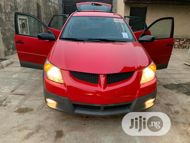 Archive: Pontiac Vibe 2004 Automatic Red