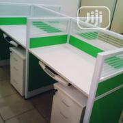 Glass Partition Office Workstation Table | Furniture for sale in Lagos State, Lagos Mainland