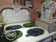Quality Royal Bed With Dressing Mirow. | Furniture for sale in Lagos State, Ojo