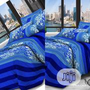 Blue Beautifully Designed Bedsheets | Home Accessories for sale in Lagos State, Oshodi-Isolo