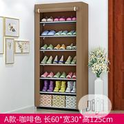 7 Layer Shoe Rack With Fabric Cover | Furniture for sale in Lagos State, Alimosho