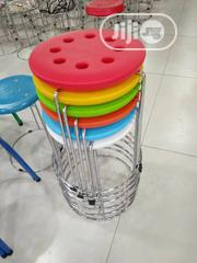 Stainless Cylinder Chair | Furniture for sale in Lagos State, Amuwo-Odofin