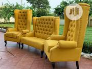 Chesterfield Sofa on Yellow | Furniture for sale in Lagos State, Magodo