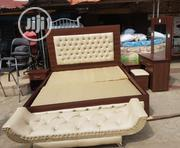 King's Size Leather Bed Frame | Furniture for sale in Lagos State, Ojo