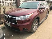 Toyota Highlander 2014 Red   Cars for sale in Lagos State, Surulere
