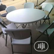 Lifetime USA Products Round Folding Table | Furniture for sale in Lagos State, Ikeja