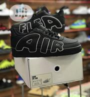 """Nike Air Force 1 """" Air Flea """" Unisex Sneakers -black 