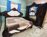 Royal Bed With 2 Light Stand and Dressing Mirror to Fit   Furniture for sale in Lagos State, Lekki Phase 1