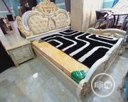 Royal Queens Bed, 2 Light Stands and Dressing Mirror | Furniture for sale in Lagos State, Lekki Phase 1