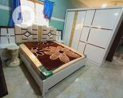 Classic But Qualty Bed With Wardrobe,2 Light Stand And Dressing Mirror | Furniture for sale in Lagos State, Lekki Phase 1