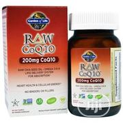 Garden Of Life COQ10 - 200mg With Chia Seed And Omega-3-6-9   Vitamins & Supplements for sale in Lagos State, Surulere