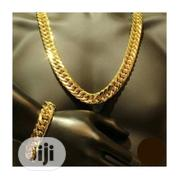 Men's Chain Necklace and Handchain   Jewelry for sale in Lagos State, Surulere