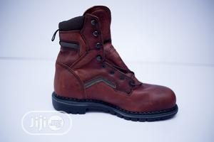 Red Wing Long Lace Safety Boot