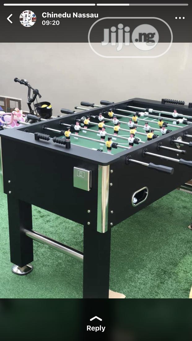 Standard 6ft by 4ft Soccer Table