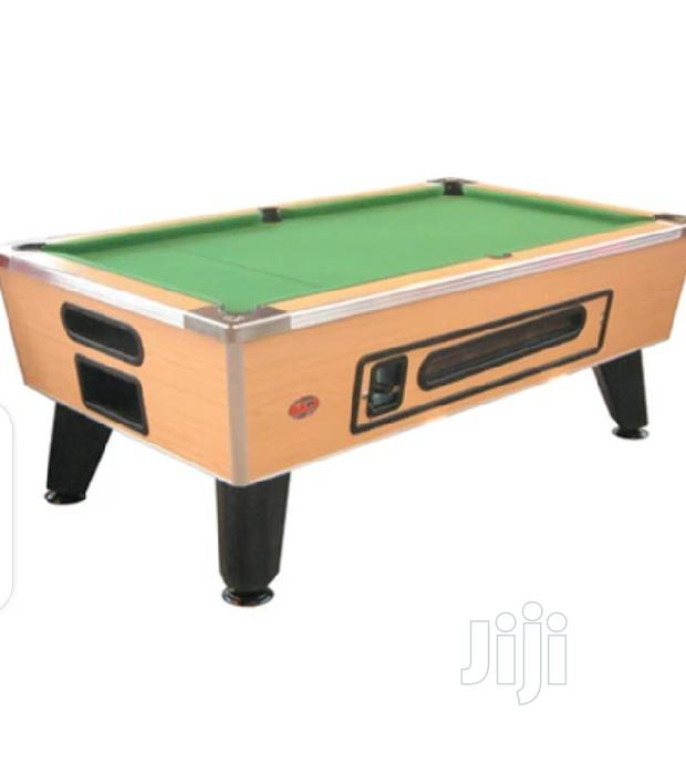 8ft Marble Coin Operated Snooker Pool Table