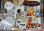 Eurosonic 3 In 1 Blender | Kitchen Appliances for sale in Lagos State, Surulere