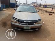 Honda Accord 2002 Coupe EX Gray | Cars for sale in Lagos State, Alimosho