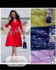 Quality Female Flare Red Gown | Clothing for sale in Lagos State, Magodo