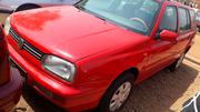 Volkswagen Golf 1997 Red | Cars for sale in Kaduna State, Kaduna