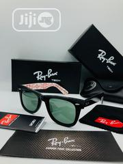 Rayban Wayfarer Black Imprint Sun Glasses | Clothing Accessories for sale in Lagos State, Ikeja