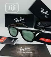 Rayban Black and Brown Imprint Sun Glasses | Clothing Accessories for sale in Lagos State, Ikeja