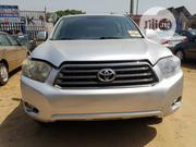 Toyota Highlander 2008 Silver | Cars for sale in Lagos State, Isolo