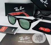 New Rayban With Red Inside Print Sun Glasses | Clothing Accessories for sale in Lagos State, Ikeja