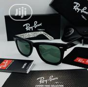 New Rayban Wayfarer With White Print Sun Glasses | Clothing Accessories for sale in Lagos State, Ikeja