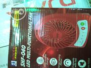 Mini Portable Hand Fan USB Rechargeable Battery + Flashlight | Electrical Equipment for sale in Lagos State, Ojo