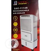 Sonik Rechargeable Air Cooler & Remote Control/Free TV/DVD Guard | Home Appliances for sale in Lagos State, Ojo
