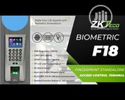 Zkt F18 LCD Screen Fingerprint PIN Access Control Time Attendance | Computer Accessories  for sale in Lagos State, Ikeja