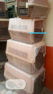 Economy Plastic Pet Carrier | Pet's Accessories for sale in Lagos State, Ifako-Ijaiye