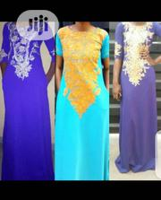 Maxi Dress With Design | Clothing for sale in Lagos State, Ajah