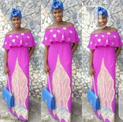 Pink Dress With Design | Clothing for sale in Lagos State, Ajah